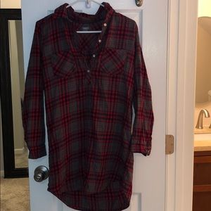 Aerie plaid nightgown